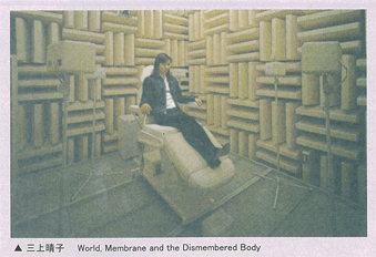 三上晴子 World, Membrane and the Dismembered Body